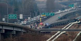 US 2 Trestle Near Everett Reopened After Truck-trailer Crash ...