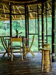100 Ibuku Bends Bamboo Into A Snailshaped Jungle Retreat Down By The River