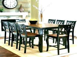 Houzz Round Dining Table Room Tasty Chairs Size