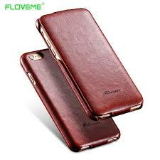FLOVEME i5 6S Flip PU Leather Case For Apple iphone 5 5S 5G SE 6