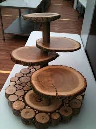 Wooden Cake Stands Best Wood Ideas On Rustic Wedding Durban
