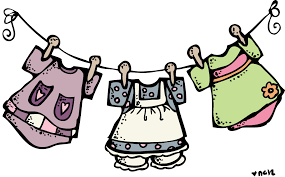 Kids Clothes Clean Clipart