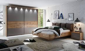 kansas schlafzimmer komplettset wildeiche basaltgrau günstig möbel küchen büromöbel kaufen froschkönig24