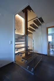 escalier bois et verre design sadev architectural glass systems