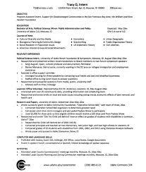 Sample Political Science Resume Exampleresumecv Org Rh Com Computer Skills On Example Communication For