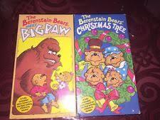 Berenstain Bears Christmas Tree 1980 by Rare Oop The Berenstain Bears Christmas Tree Meet Big Paw