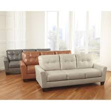 Levon Sofa Charcoal Upholstery by Ashley Levon 7340 Midha Furniture Gallery