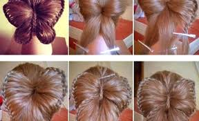 Fun Crafts To Do At Home For Tweens Girl Crafting Amazing Butterfly Hairstyle