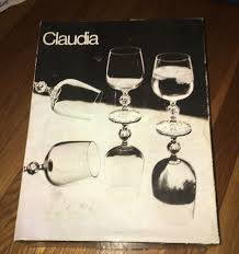 100 Poland Glass New VTG Claudia Import Associates Crystal Goblet Es Set 6 In Box