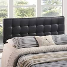 buy black leather headboard from bed bath beyond