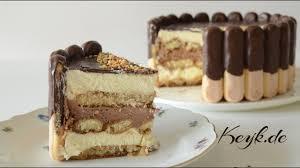 nutella tiramisu torte no bake nutella torte löffelbiskuit torte