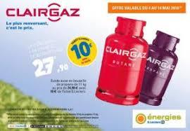 bouteille de gaz consigne bouteille de gaz clairgaz butane consigne avec 10 en ticket e