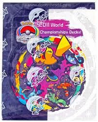 Pokemon World Championship Decks 2015 by Pokemon 2011 World Championship Deck Box Da Card World
