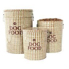 Harry Barker Dog Bed by Storage Bins Dog Food Bins Storage Stackable Pet Food Storage