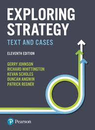 Pearson Exam Copy Bookshelf by Pearson Exploring Strategy Text And Cases 11 E Gerry Johnson