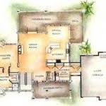 Smart Placement Custom Home Plan Ideas by Home Designs Custom House Plans Garage Building Plans 3684