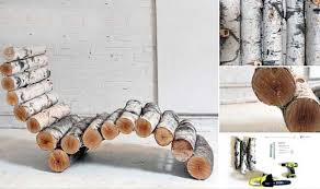 Diy Rustic Home Decor Ideas For Exemplary Log Decorating Contemporary