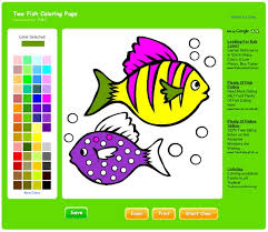 Free Coloring Pages For Kids Online On Color Games