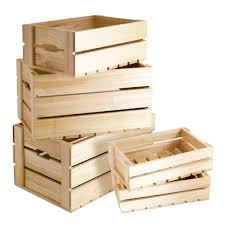 Simple Scale Home Projects Using Wooden Crates