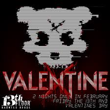 13th Floor Blackout Promo Code by Valentine X At The 13th Floor In February Haunted Houses Chicago
