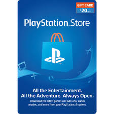 PlayStation Store $20 Gift Card