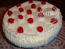dessert avec creme fouettee gâteau a la crème chantilly de ma chère tante nawel