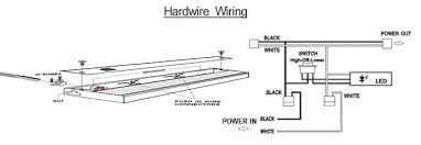amazing fluorescent cabinet lighting direct wire led light