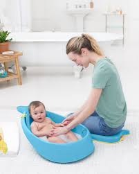 Inflatable Bathtub For Toddlers by Moby Smart Sling 3 Stage Tub Skiphop Com