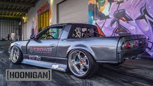 HOONIGAN] DT 136: Nissan 240SX S13 Drift Truck - YouTube