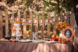 Sweetly Feature Fall Wedding Table