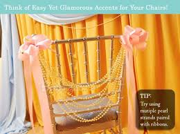 Creative Ideas For Dressing Up Your Wedding Chairs