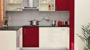Red Glass Tile Backsplash Pictures by Models Of Modular Kitchen Gray Kitchen Cabinet Under Cabinet Range