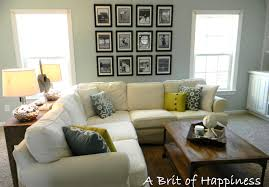 Beach Coastal Family Room Makeover Living Room Makeovers A
