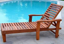 Pool Lounge Chairs Wooden Mdash Nhfirefightersorg The Trends Of