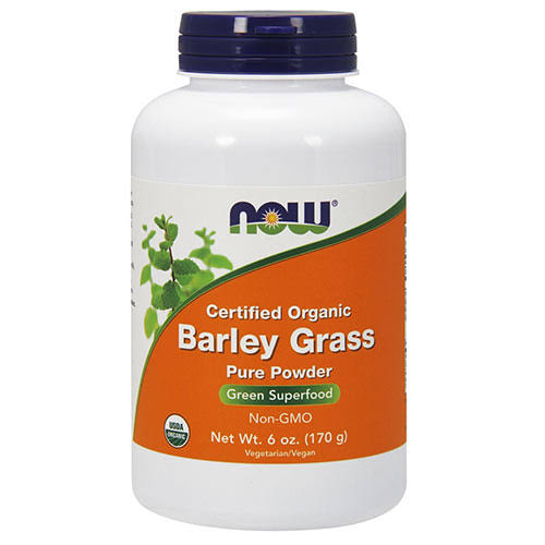 Now Foods Barley Grass Organic - 6 oz - Powder