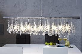 esszimmer beleuchtung e14 modern kunstvoll länglich