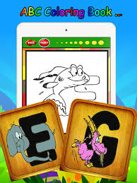 Kids ABC Animals Cartoon Words Coloring Book Game On The App Store