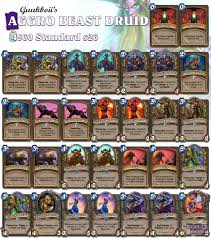 Control Priest Deck 2017 by Top 20 Legend Beast Druid Hearthstone Decks Cars And