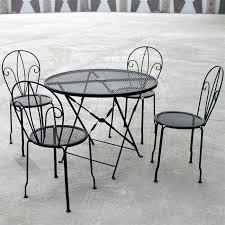 chaise de jardin en fer forgé pas cher l univers du jardin