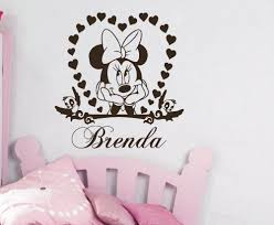 Wall Mural Decals Cheap by Online Get Cheap Minnie Mouse Wall Mural Aliexpress Com Alibaba