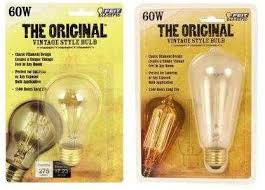 the original vintage style light bulb the home depot community