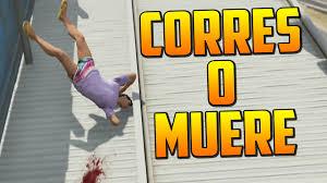 CORRES O MUERES Gameplay GTA 5 line Funny Moments Carrera GTA