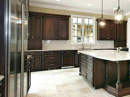 Gray Kitchen Floor Walls With Dark Cabinets Wall Colors Lovely