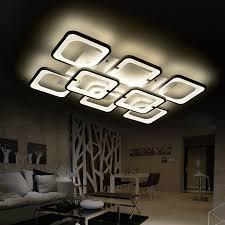 remote led ceiling light luminarias living room lights