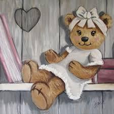 tableau ourson chambre bébé tableau nounours tableau nounours bonnet de nuit tableau nounours