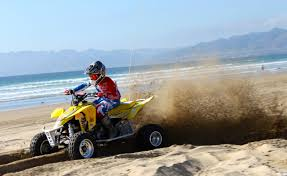Shredding Sand On A Sunny Day At Pismo Beach