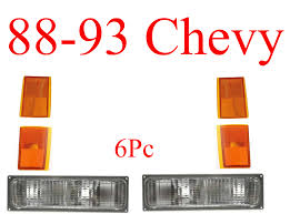88-93 Chevy Truck 6Pc Front Light Kit, MrTailLight.com Online Store 88 Chevy Truck Custom High Lamps Greattrucksonline Turn Signal Wiring Diagram 1500 Electrical Schematics 7388 New Usa630 Ii 300 Watt Am Fm Stereo Radio Ipod Czeshop Images 1988 Lowering Interior Chevrolet Ck Henry_racing Silverado Regular Cab Specs Photos Where Is The Ecm Fuse Chevy Pu Push Bar Questions What Kind Of Exhaustheaders Should I 86 Transmission Trusted Diagrams