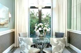 Dining Room Window Treatment Ideas Drapes Elegant
