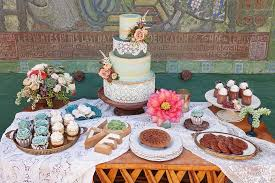 Cupcakes And Tres Leches Parfaits Cake Dessert For Rustic Wedding Mexican Reception