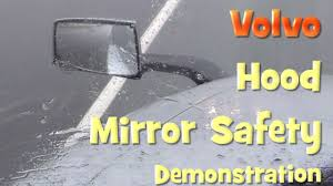 100 Semi Truck Mirrors Volvo Hood Mirror Safety Demonstration YouTube